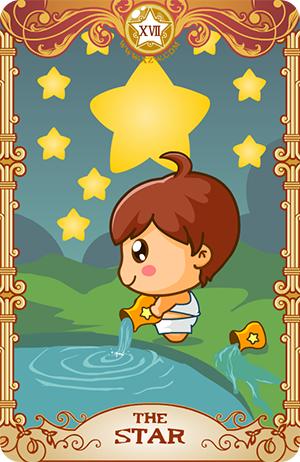 17星星(The Star)